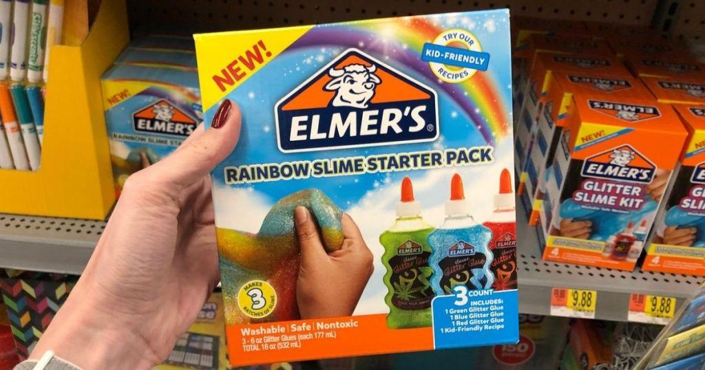 Elmer's Rainbow Slime Starter Pack