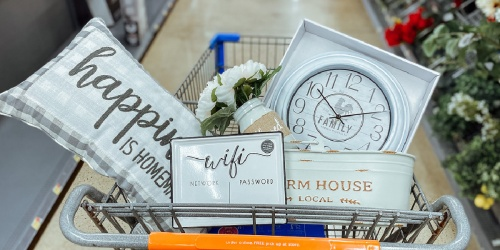 Score Farmhouse Decor from $3.83 at Walmart (In-Stores & Online)