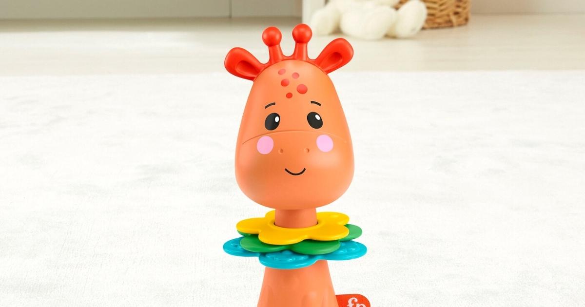 Fisher-Price Activity Giraffe Infant Toy