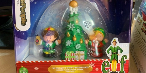 Fisher-Price Little People Elf Movie Collector Set Only $10.77 on Amazon