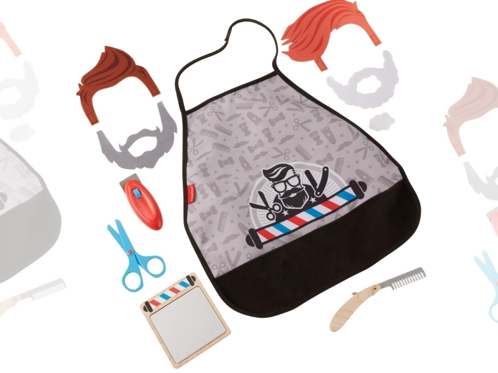 Fisher-Price Style & Shave Barber Shop 10-Piece Play Set