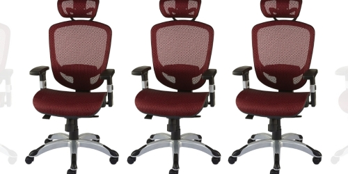 Mesh Back Office Chair Just $125.24 Shipped on Staples.com (Regularly $270)