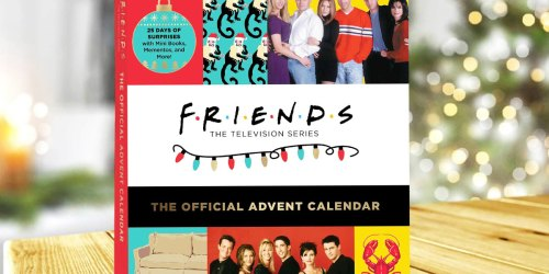 Pre-Order Friends Official 2021 Advent Calendar for $26.99 on Amazon (Includes 25 Keepsakes!)