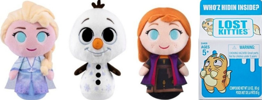 Frozen Plush and Lost Kitties Blind Box