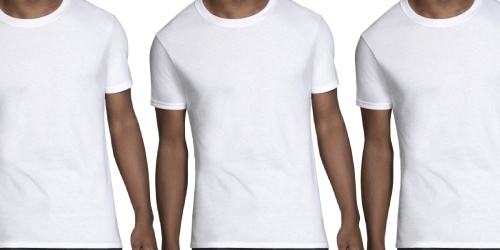 Fruit of the Loom Men's T-Shirt 6-Pack Only $13 on Amazon | Just $2.17 Each