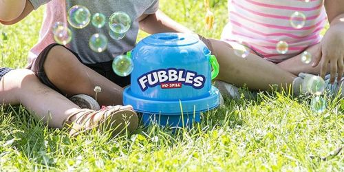 Fubbles No-Spill Big Bubble Bucket Only $7.79 on Amazon (Regularly $17)