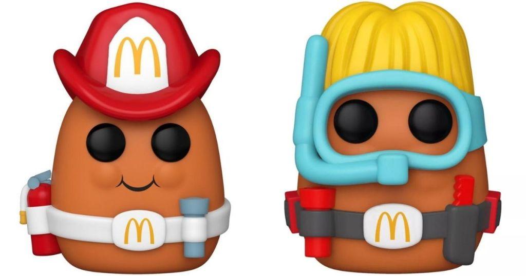 Funko Pop McNuggets Fireman and Scuba