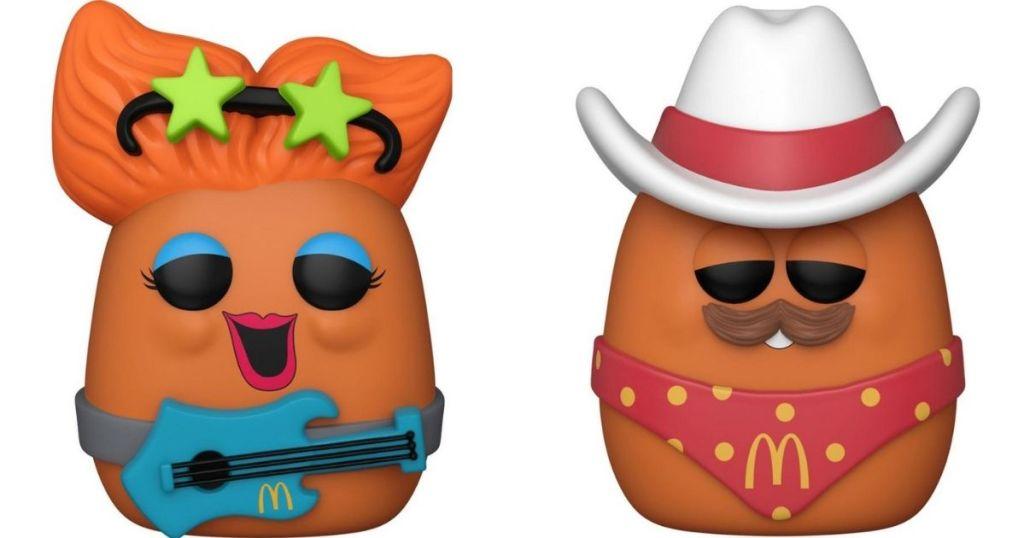 Funko Pop McNuggets Rockstar and Cowboy