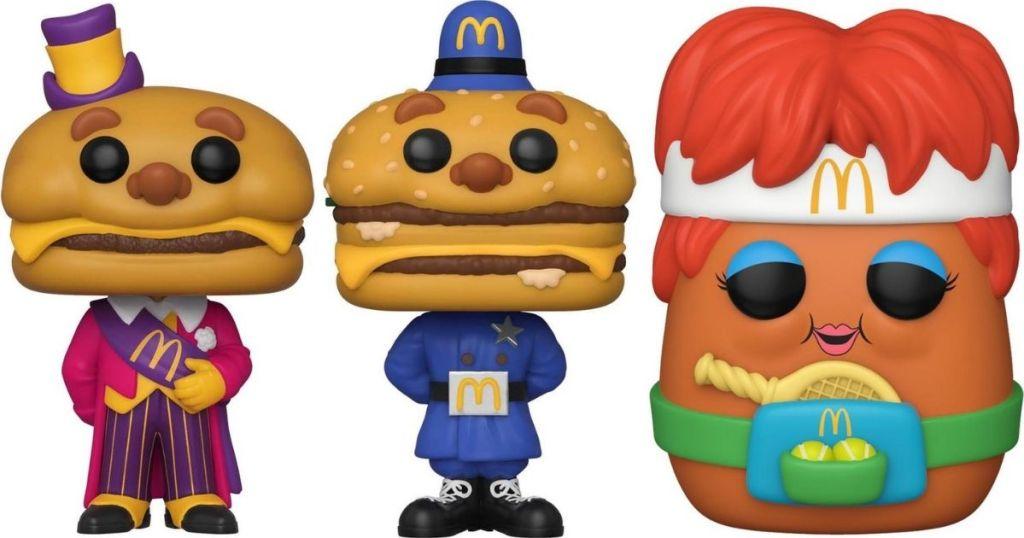 Funko Pop Mcdonald's figures