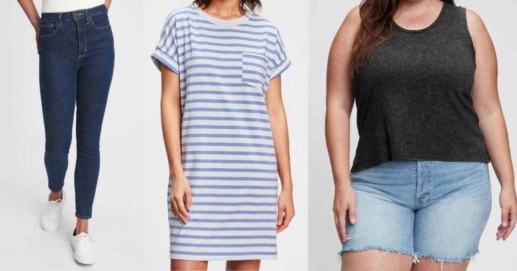 GAP Women's Jeans, Dresses and Tank