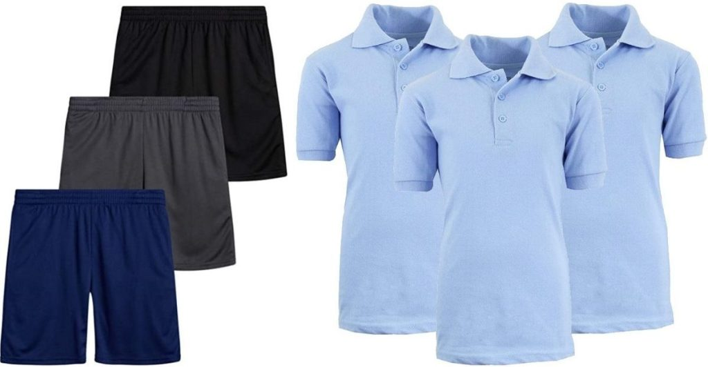 GBH Boys Shorts and Polos