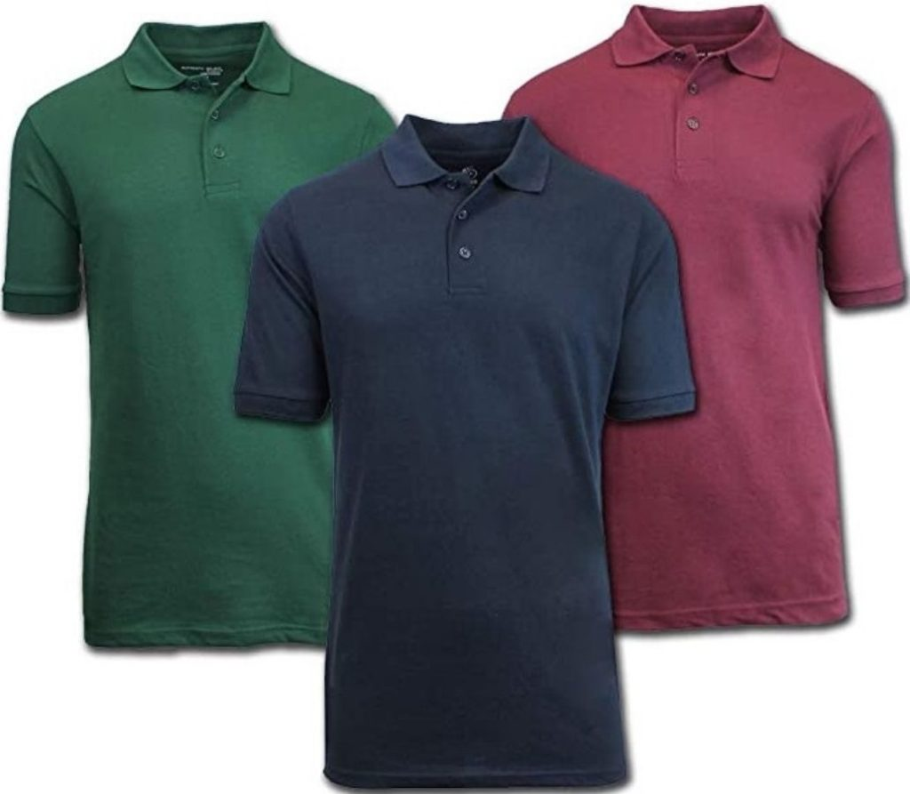 GBH mens polo shirts