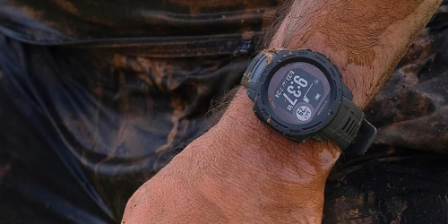 Garmin Instinct Solar GPS & Fitness Smartwatch from $239.99 Shipped (Regularly $400)