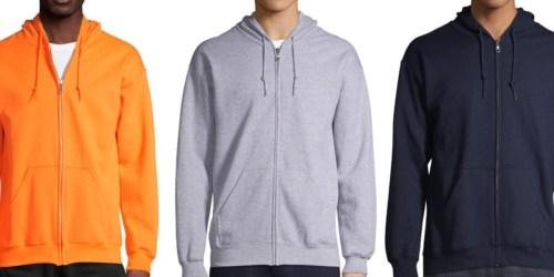 Gildan Fleece Full-Zip Hooded Sweatshirt Just $8.63 on Amazon on Walmart.com (Regularly $14)