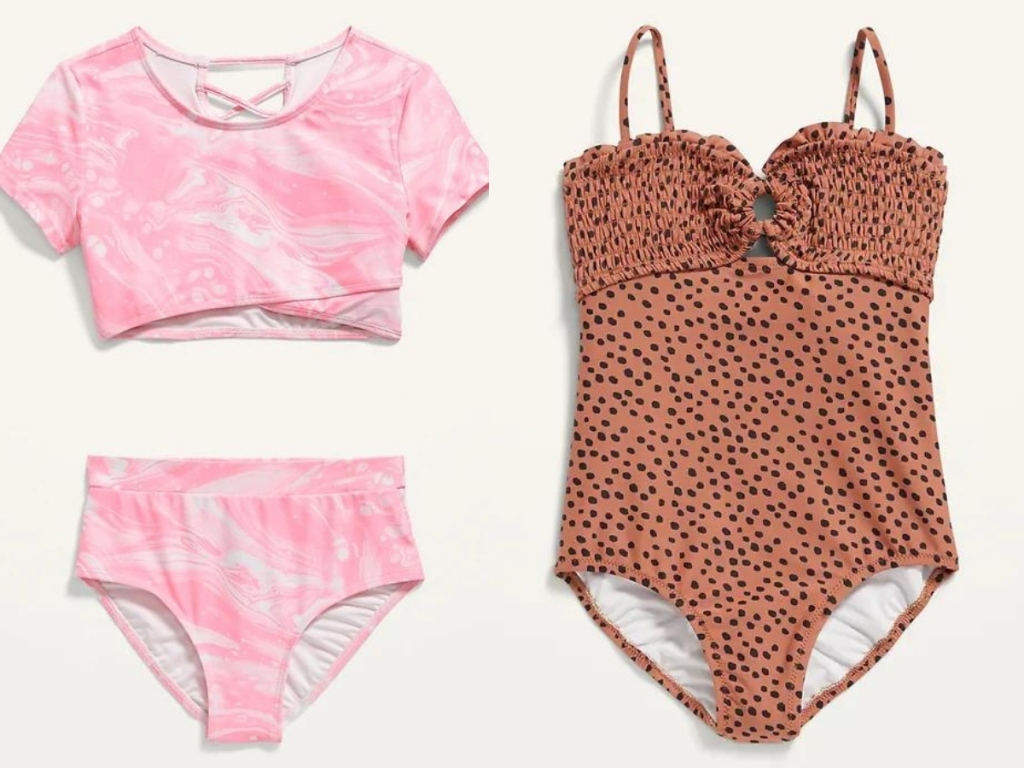 girls swimsuits from old navy