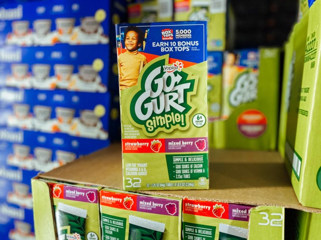 Gogurt Simple Yogurts in refrigerated shelf