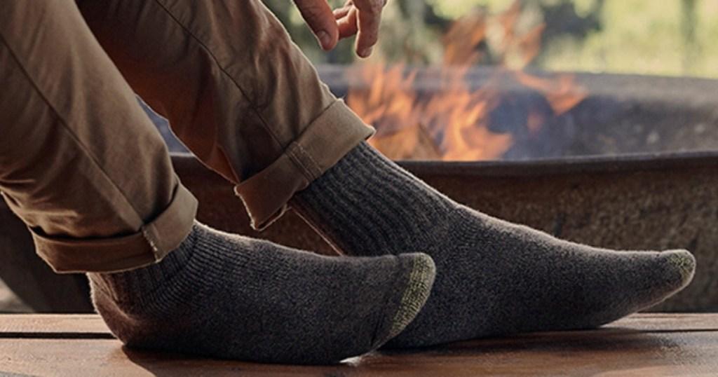 men's gold toe harrington crew socks