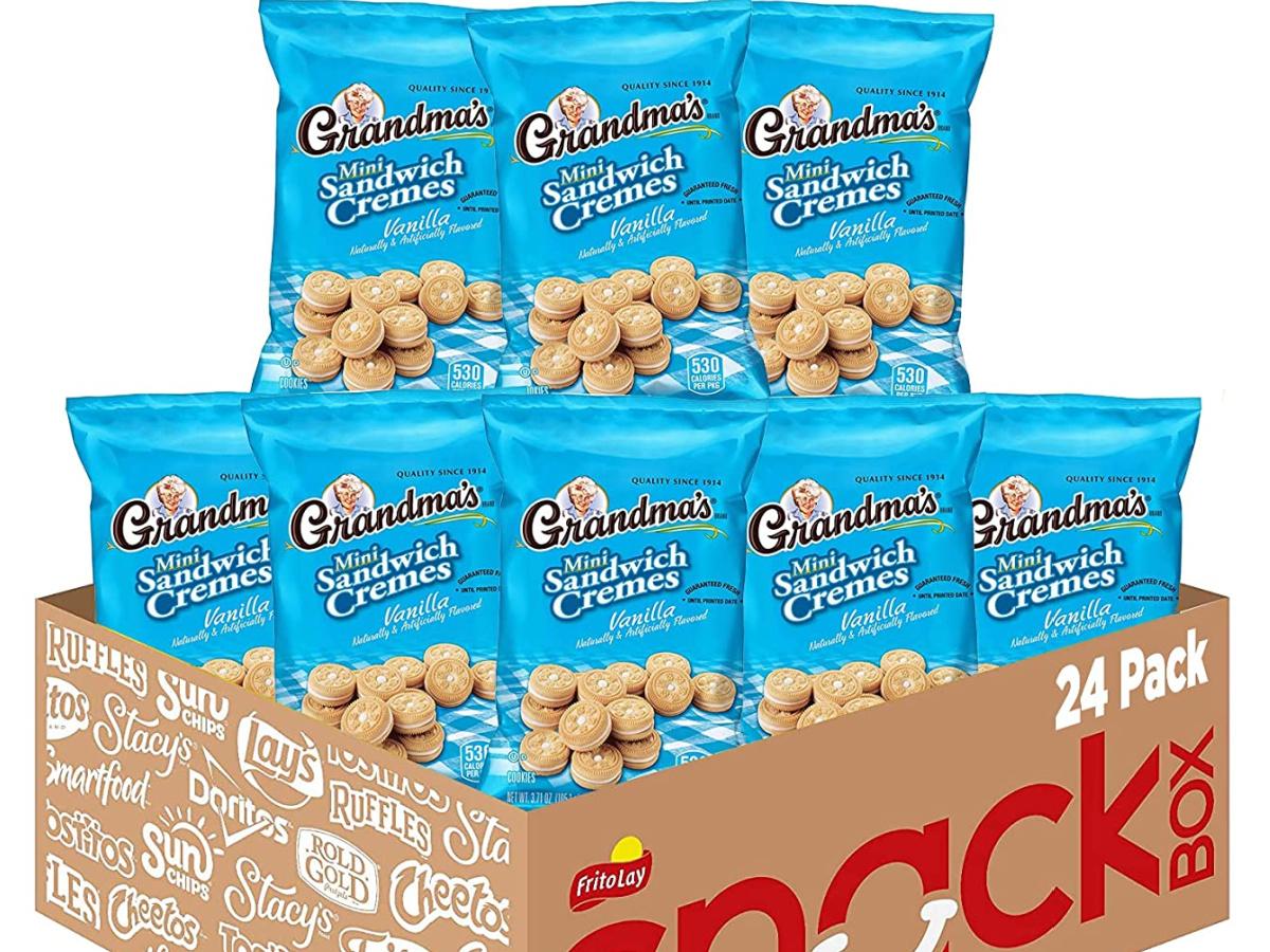 Grandma's Mini Cookies, Vanilla Crème