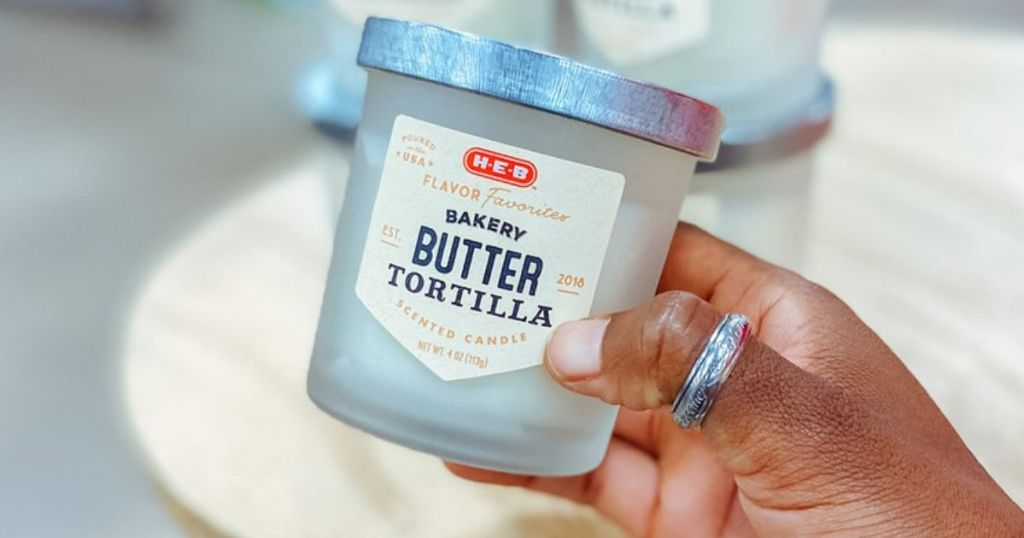 Butter Tortilla candle HEB