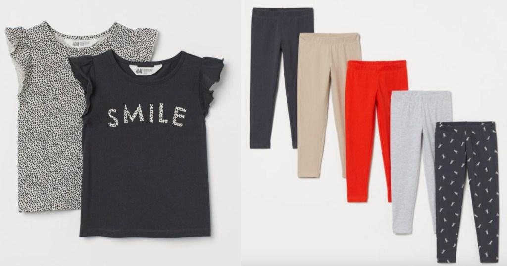 h&m girls clothing sets