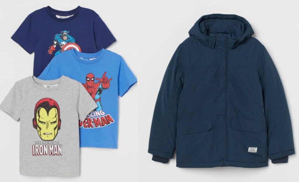 boys h&m clothing