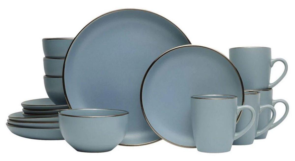 Pfaltzgraff hadlee blue dinnerware set macy's