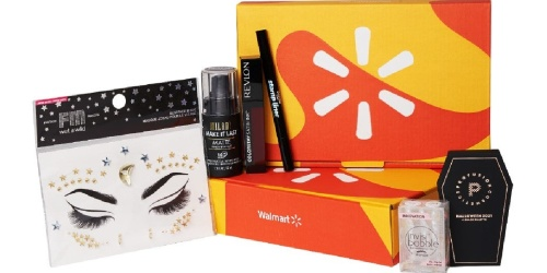 Limited-Edition Halloween Walmart Beauty Box Available for Subscribers | Just $9.98 Shipped ($33 Value!)