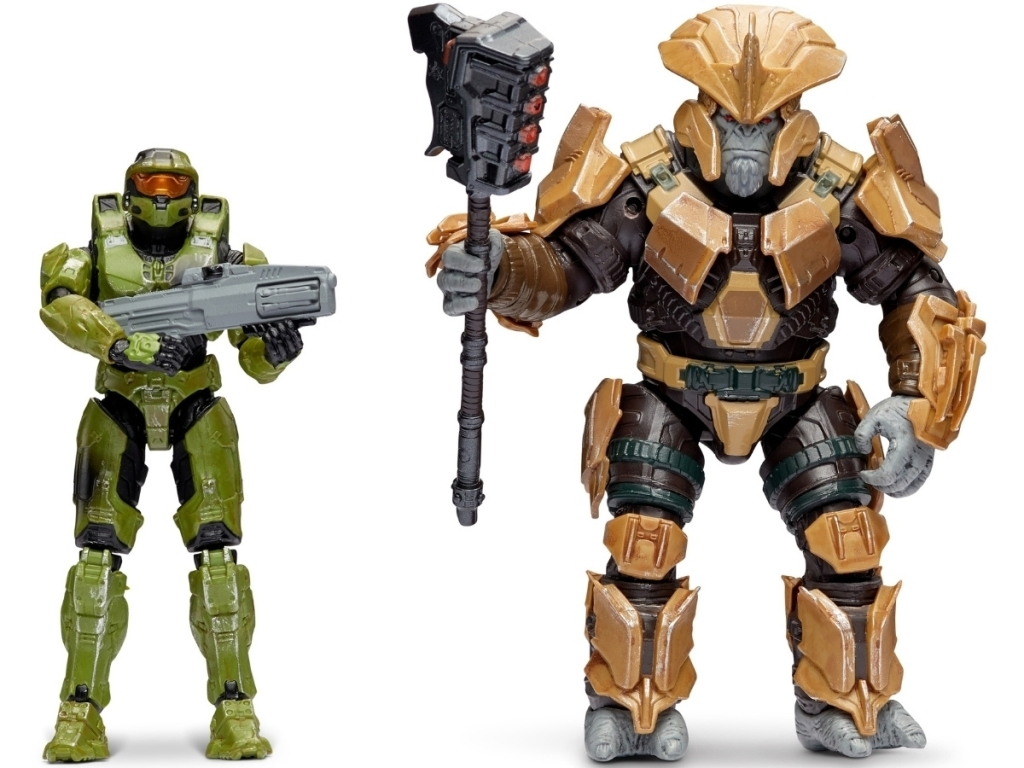 characters from halo world figures pack