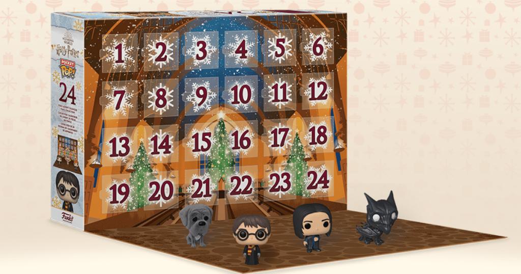 Harry Potter themed advent calendar