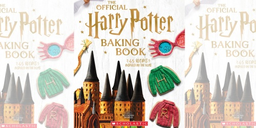The Official Harry Potter Hardcover Baking Book Just $13.98 on Amazon   Includes 45 Recipes