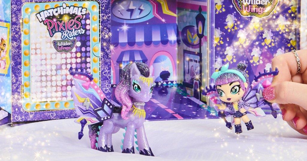 hatchimals pixie set with magical mel