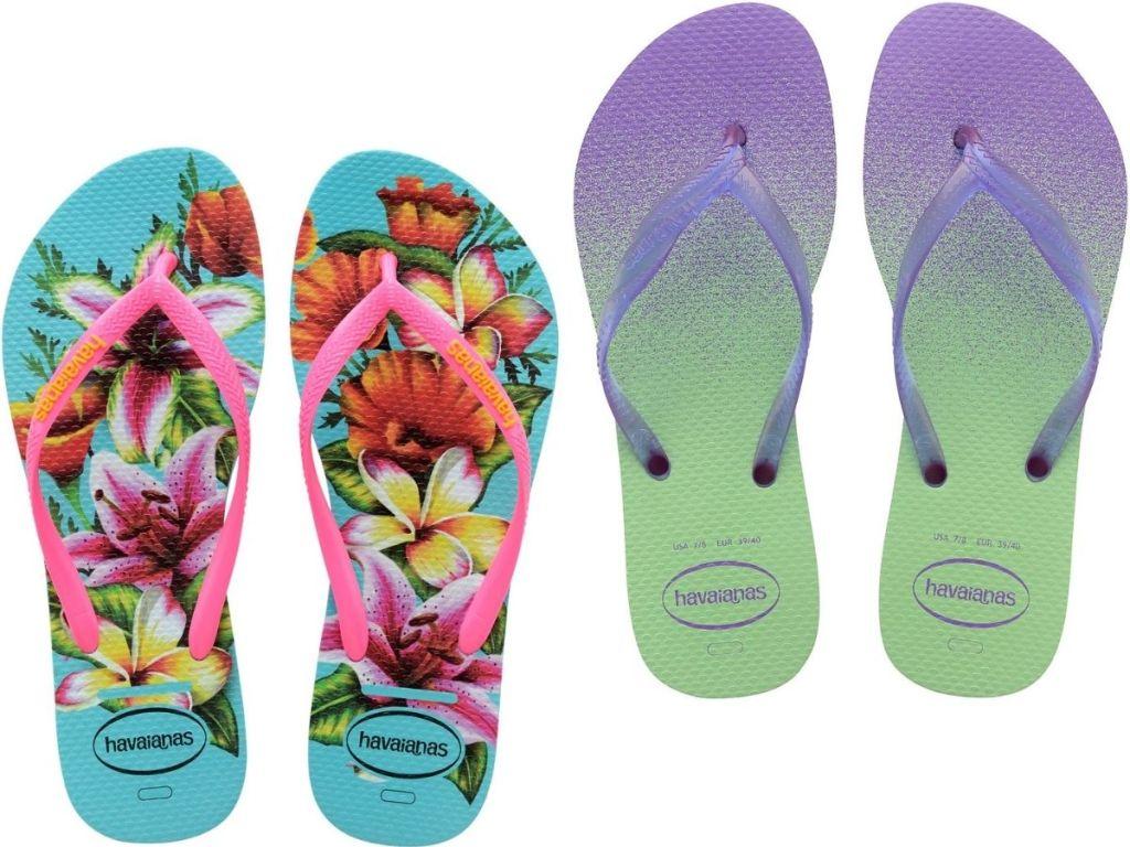 Havaianas Kids and Women's Flip Flops