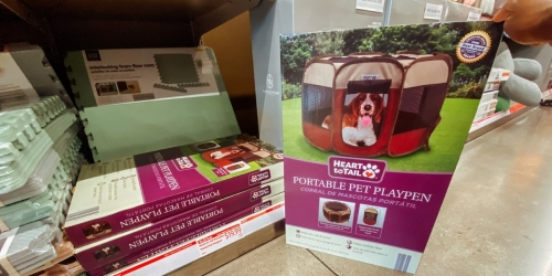 Portable Travel Pet Playpen Only $19.99 at ALDI