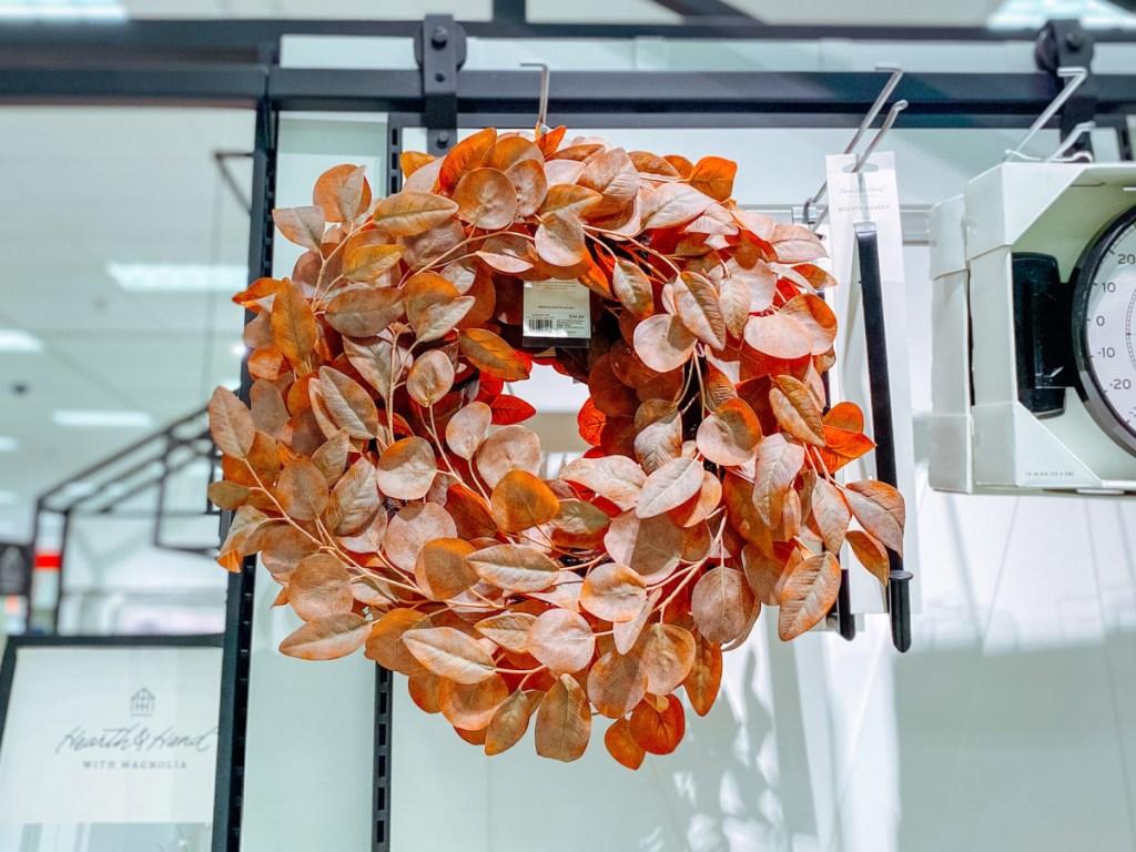 hearth and hand dried eucalyptus wreath