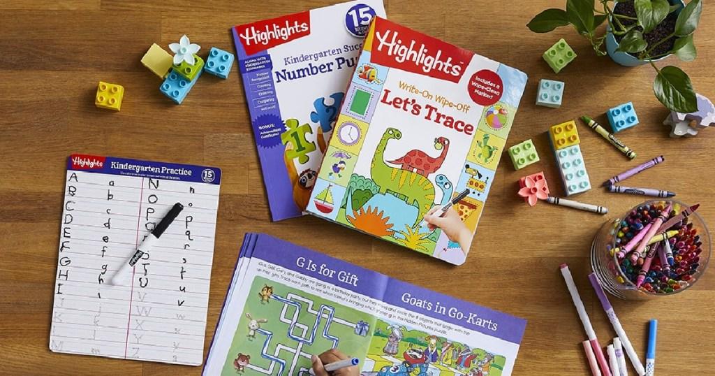 children's workbooks