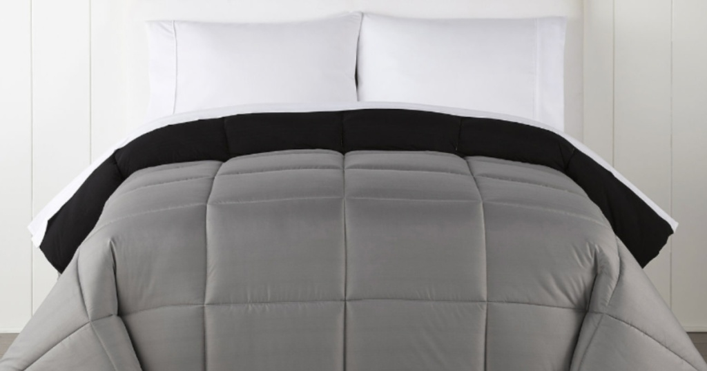 Home Expressions Ultra Soft Down Alternative Reversible Comforters grey