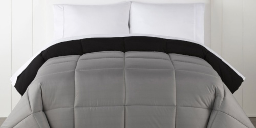 Ultra Soft Down Alternative Reversible Comforter from $14.99 on JCPenney.com