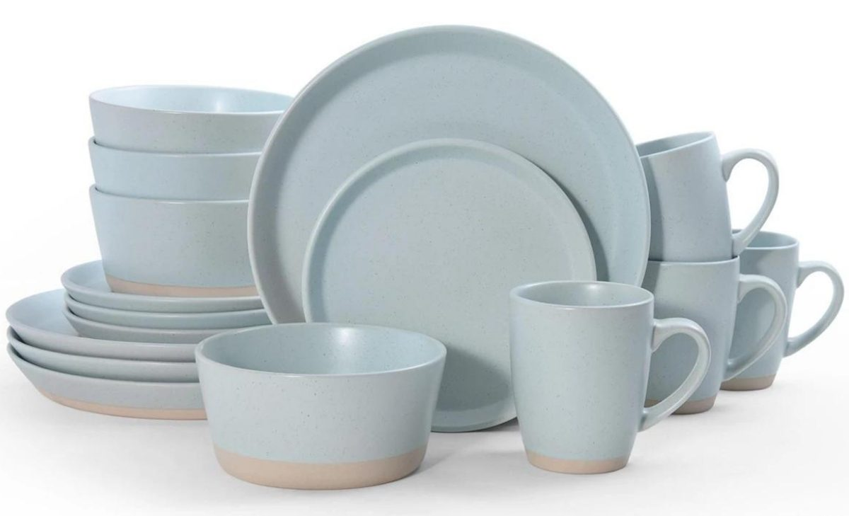Pfaltzgraff hudson blue dinnerware set macy's
