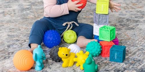 Infantino Sensory Balls, Blocks & Buddies Only $9 on Amazon or Walmart.com (Regularly $25)