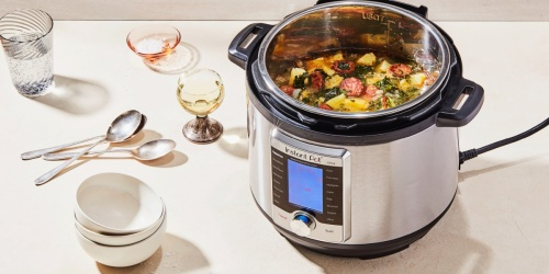 Instant Pot 10-in-1 Pressure Cooker Only $55.97 Shipped on Amazon (Regularly $120)
