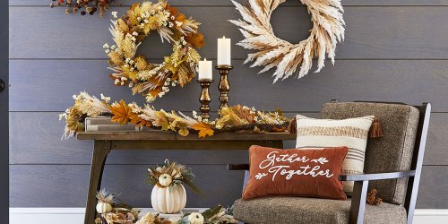 Fall & Halloween Decor from $10.50 on JCPenney.com | Gnomes, Throw Pillows, Wreaths & More