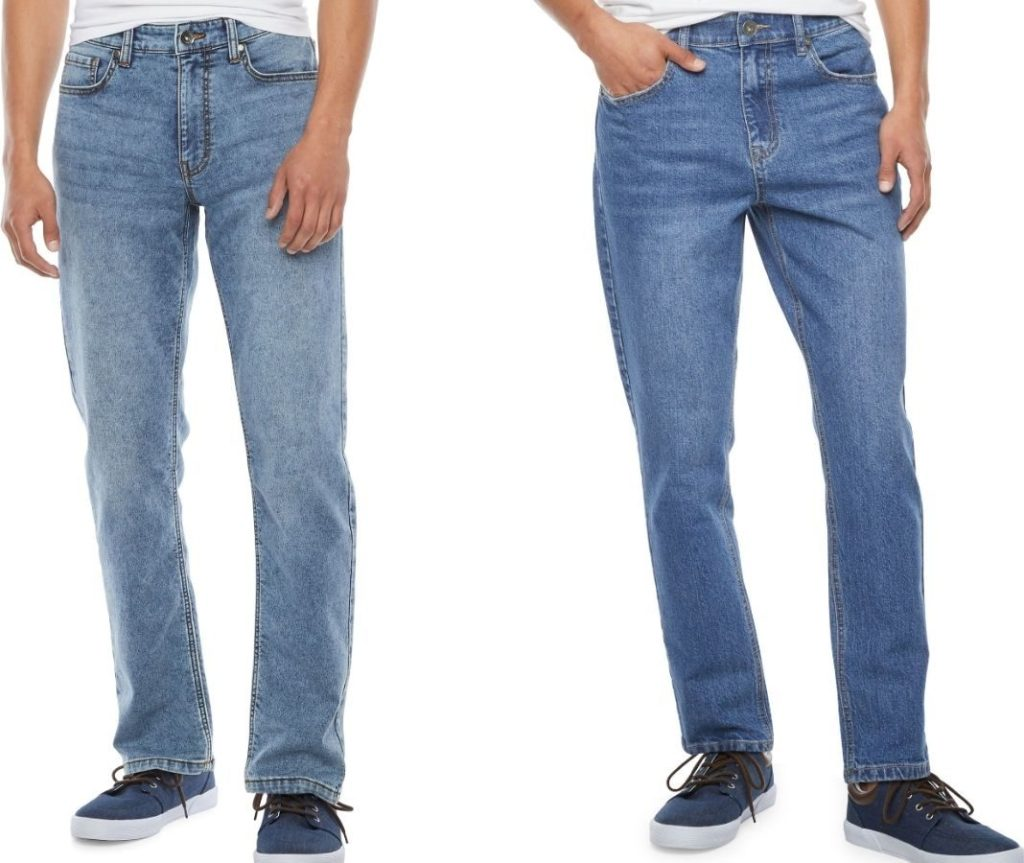 two pairs of men's Hollywood jeans from JCPenney