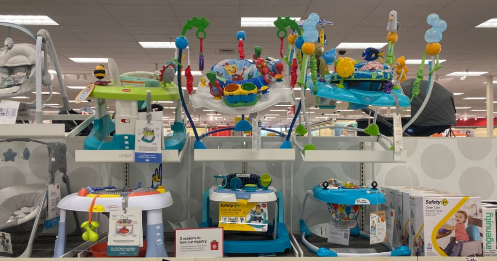 baby products on shelf