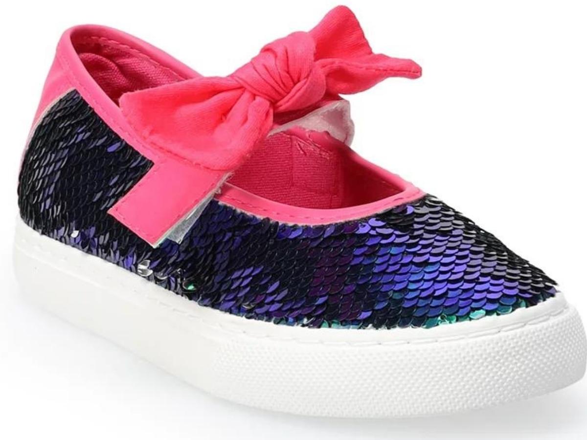 Ground Up Mermaid Girls' Mary Jane Shoes