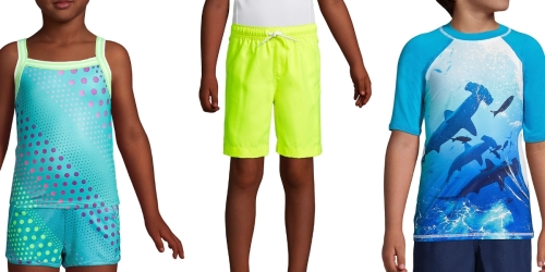 Lands' End Kids Swimwear Separates from $3.29