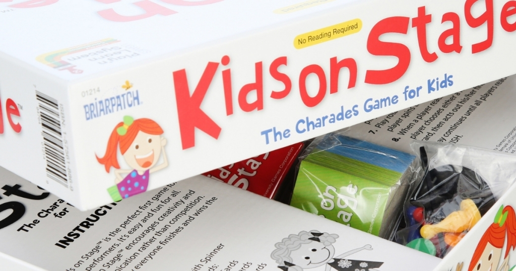 Kids on Stage charades game for kids