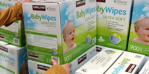 Kirkland Signature Baby Wipes 900-Count Box Just $15.99 Shipped on Costco.com