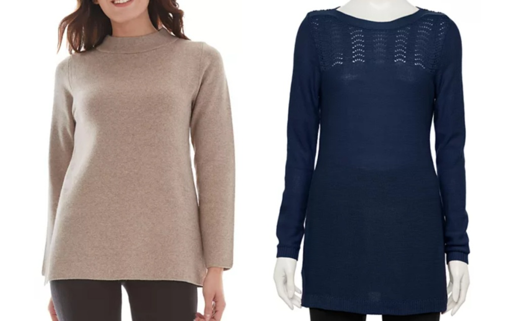 kohl's clearance sweaters