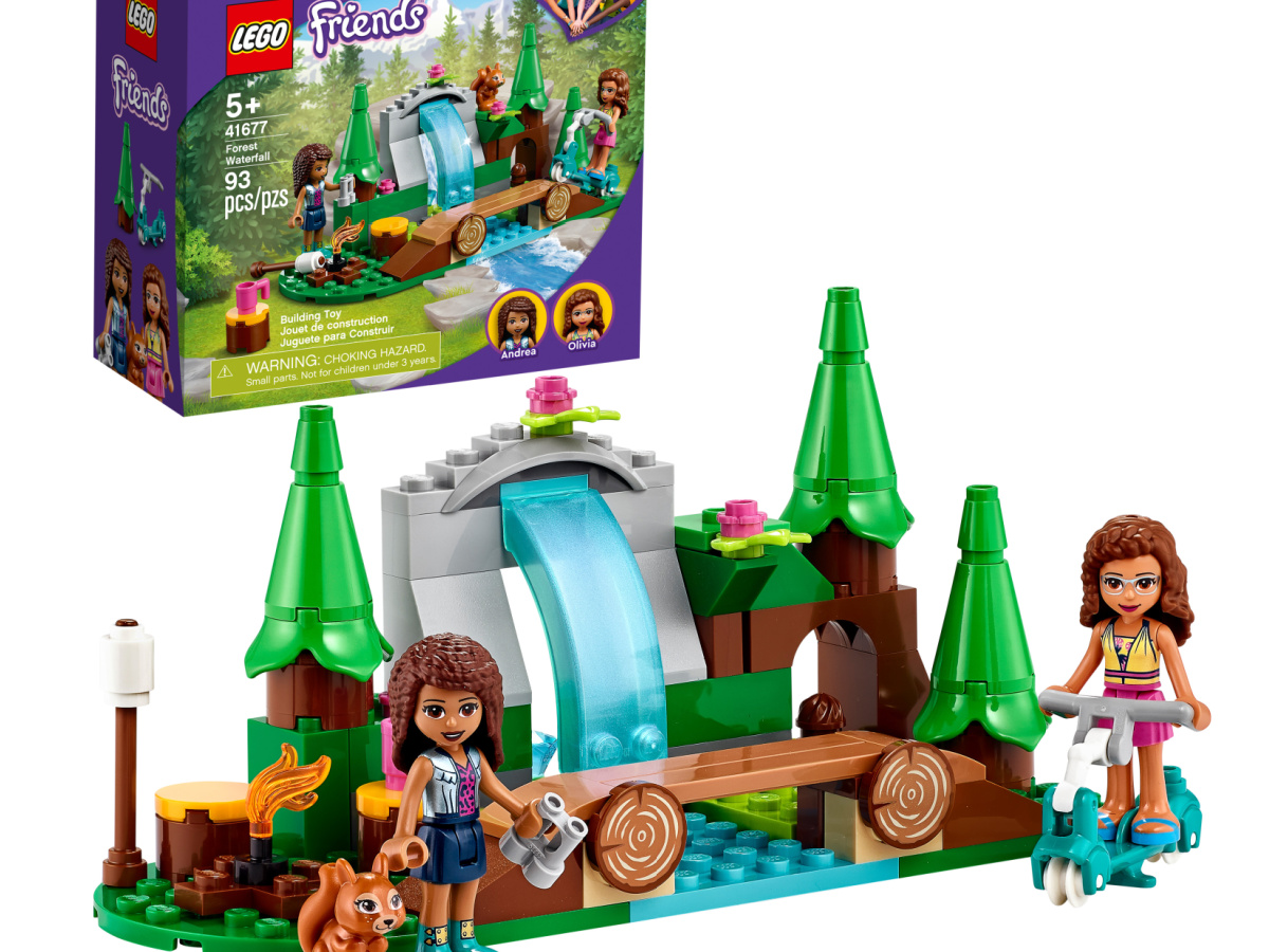 LEGO Friends Forest Waterfall Building Kit 93-Pieces
