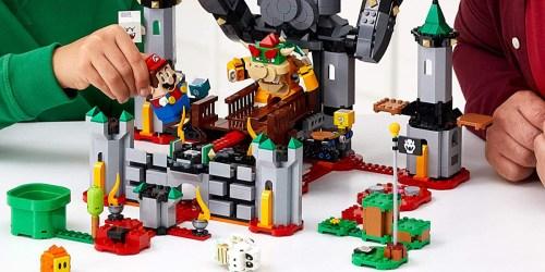 LEGO Super Mario Bowser's Castle Expansion Set Just $79.98 Shipped on Amazon (Regularly $100)